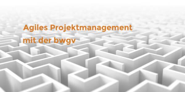 Agiles Projektmanagement mit der bwgv