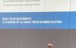 Joschka Fischer zu E-Mobility