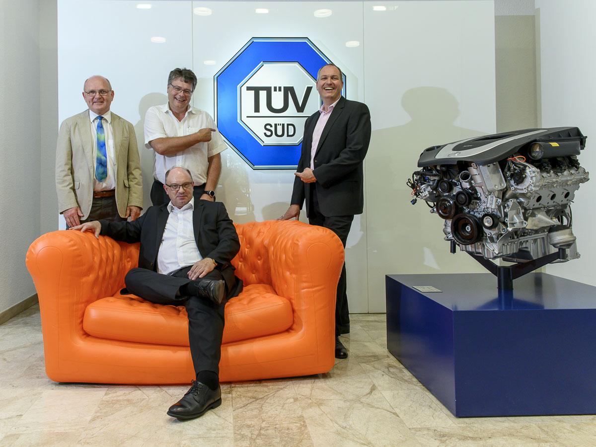 Mitglieder der Geschäftsführung und Geschäftsleitung der TÜV SÜD ET