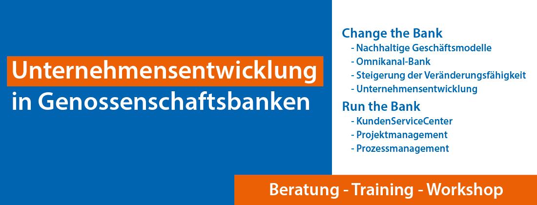 Unternehmensentwicklung in Genossenschaftsbanken