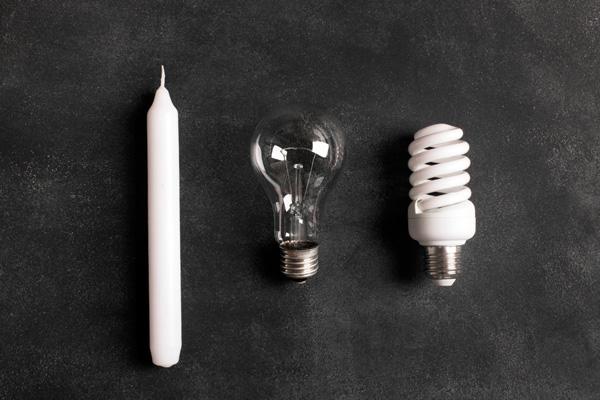 Innovation - Von der Kerze zur Energiesparleuchte