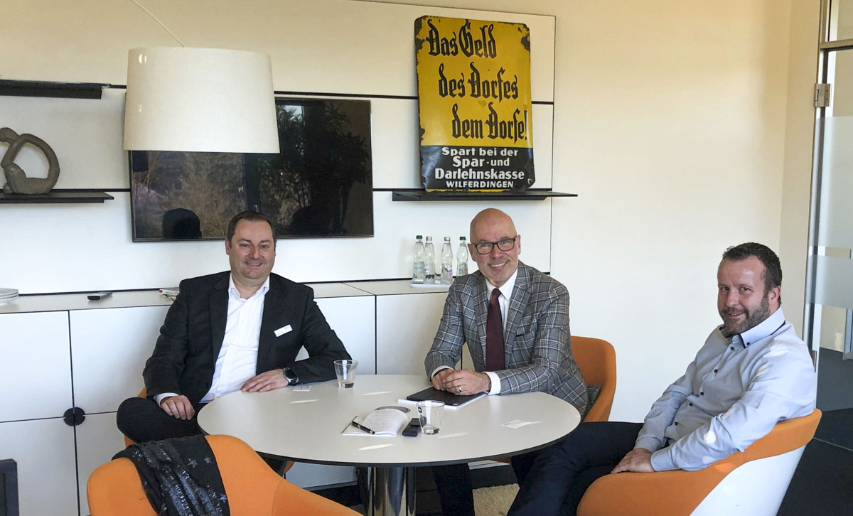 Christian Eichhorn im Gespräch mit Michael Vogt und Timo Friedl
